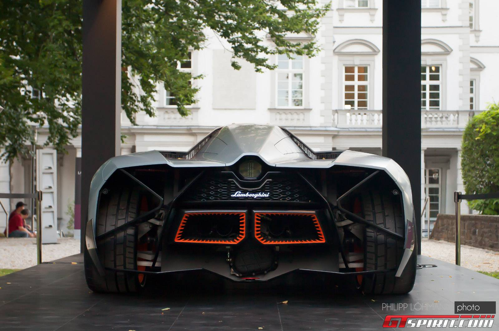 Earthu0027s Very Own Spaceship: The Lamborghini Egoista!