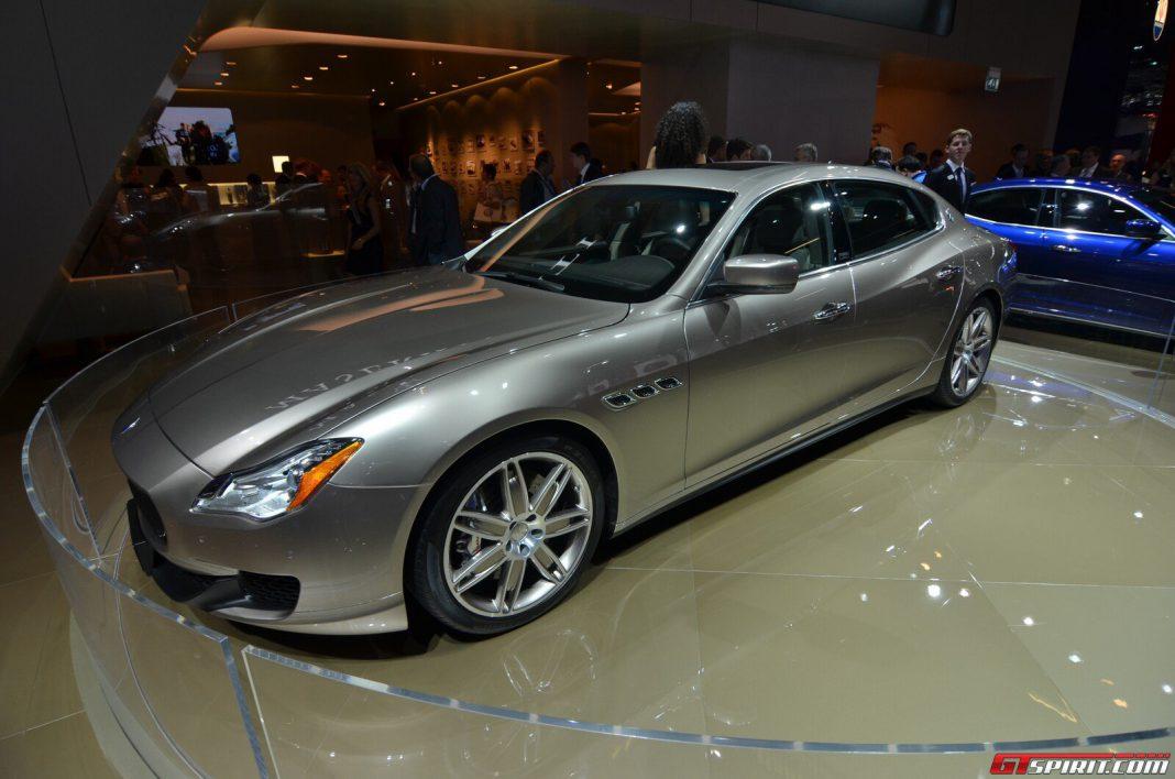 Service Manual Maserati Quattroporte Replacement Set For