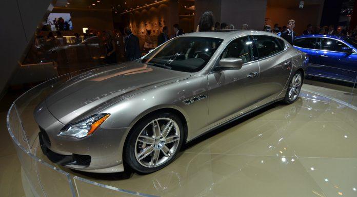 Frankfurt 2013 Maserati Quattroporte Ermenegildo Zegna Limited