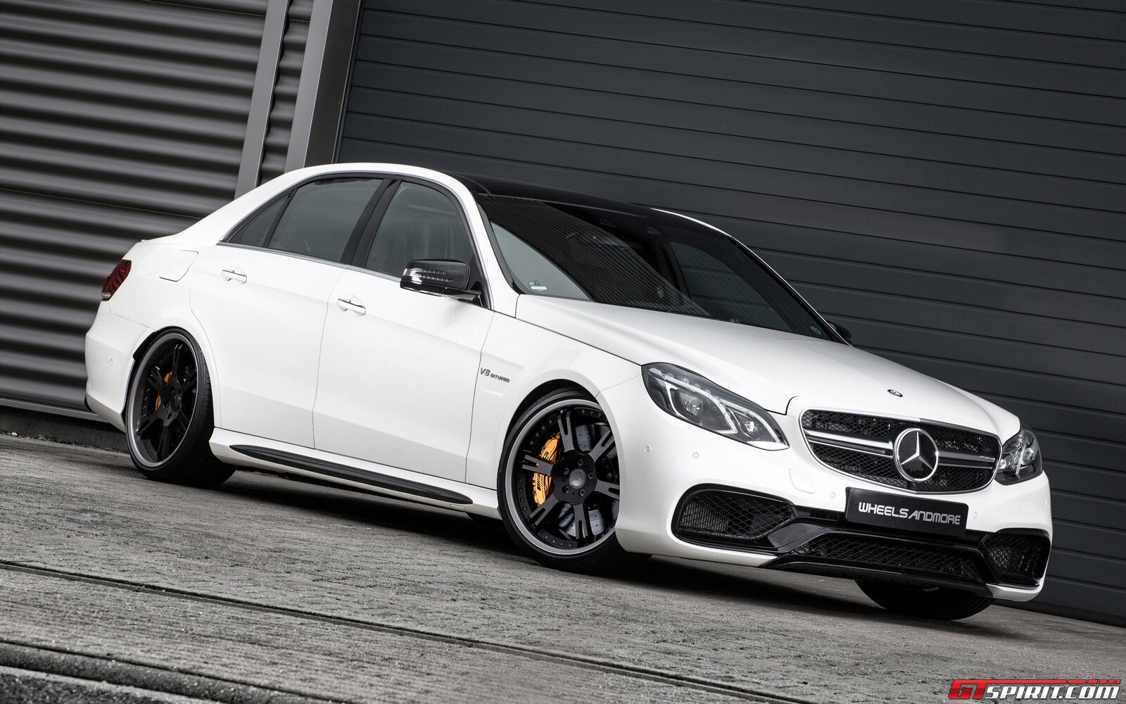 mercedes benz e 63 amg seven 11 by wheelsandmore gtspirit. Black Bedroom Furniture Sets. Home Design Ideas