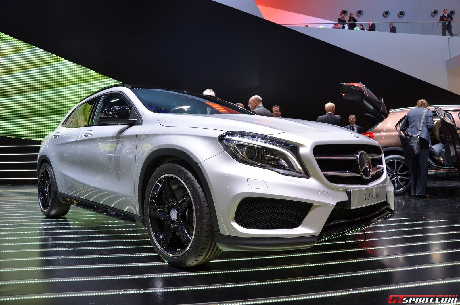 frankfurt 2013 mercedes benz gla class gtspirit. Black Bedroom Furniture Sets. Home Design Ideas