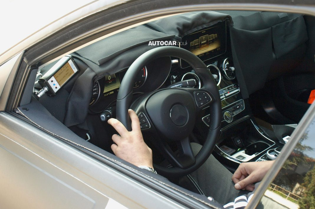 2015 Mercedes-Benz C-Class Interior Exposed