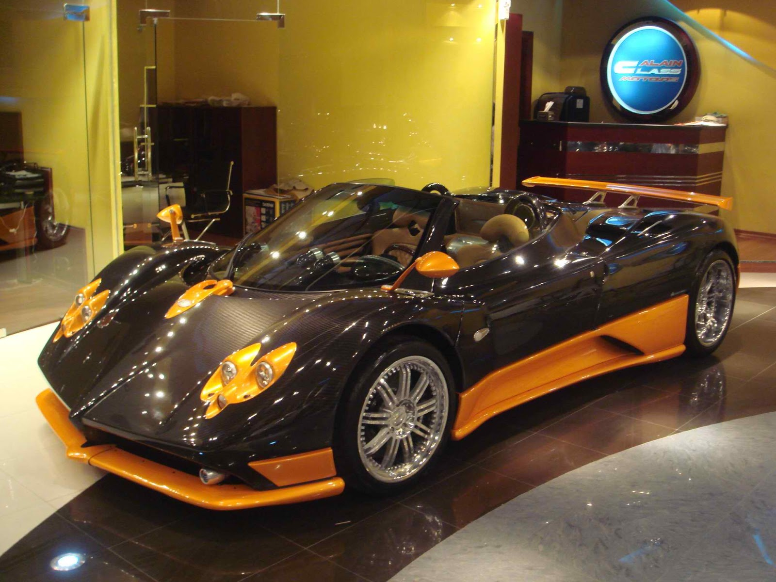 Pagani Zonda F Roadster with $14 Million Number Plate GTspirit