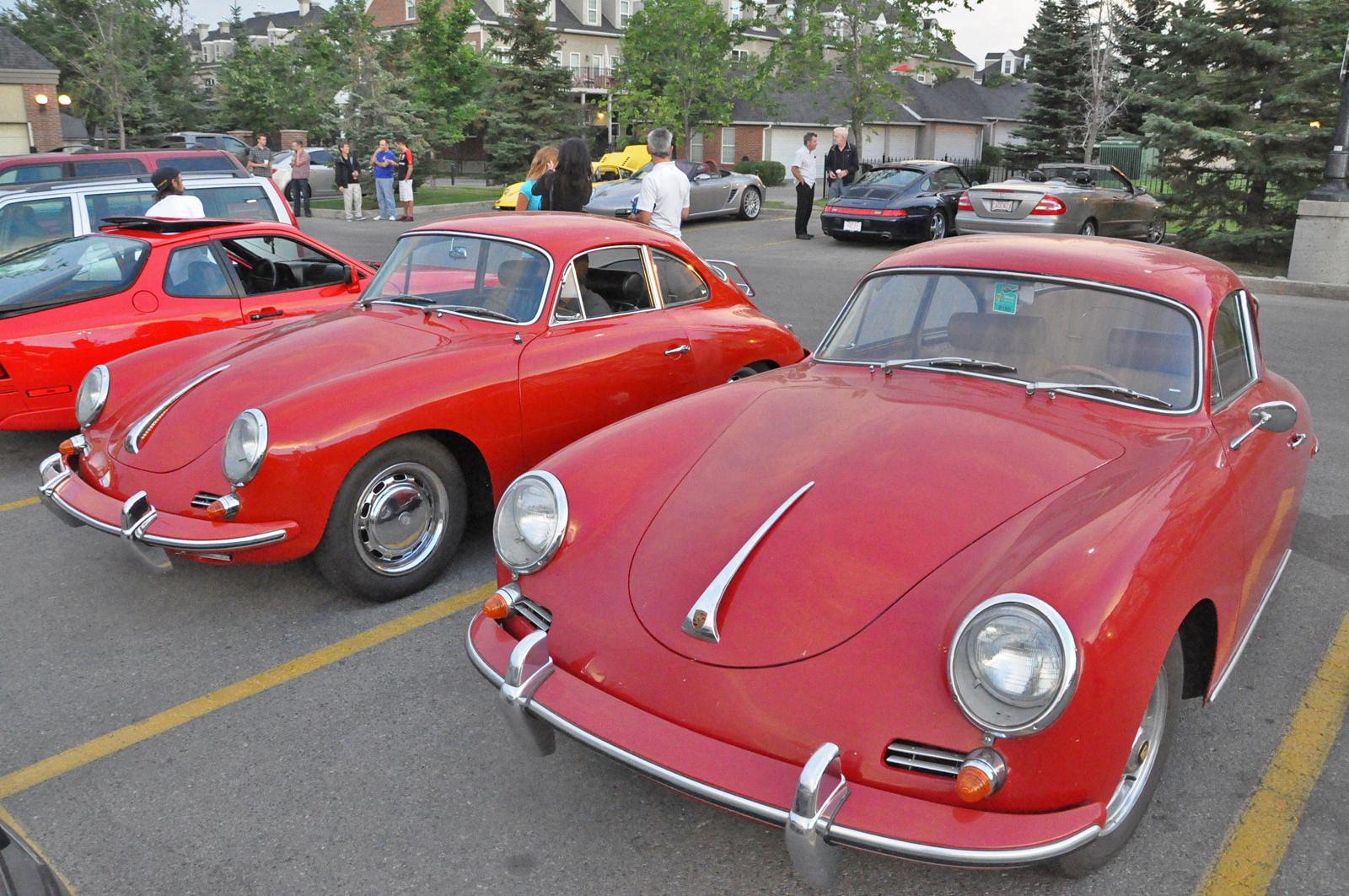 Ferrari Club Of America Alberta Chapter Euro Cars Meet Gtspirit
