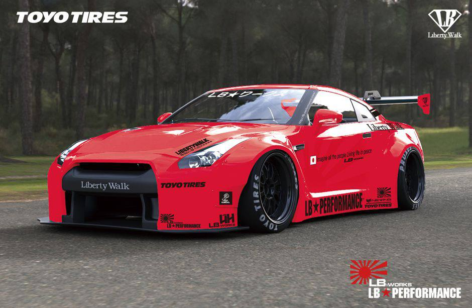 Liberty Walk Performance Previews Insane Widebody Nissan