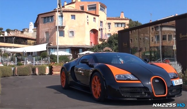 This Is What Its Like Riding In The Bugatti Veyron Grand Sport