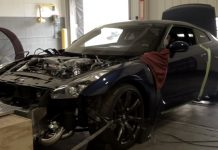 The Sights & Sounds of a 2000hp Nissan GT-R on the Dyno!