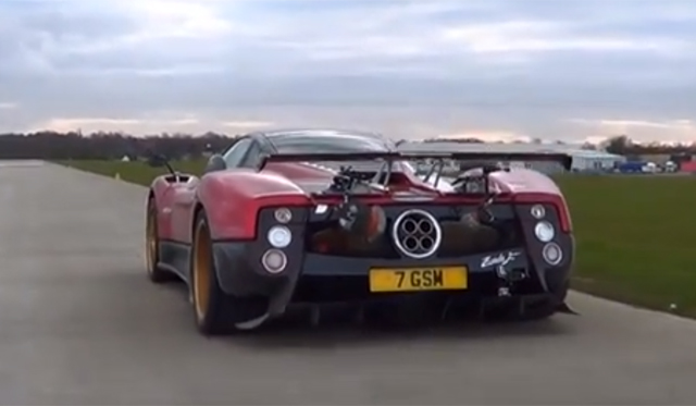 The Sounds of a Pagani Zonda F With Cinque Upgrades!