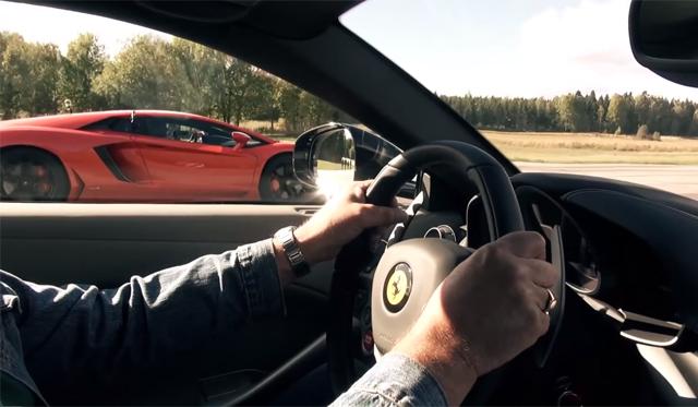 What S Faster The Lamborghini Aventador Or Ferrari F12 Gtspirit