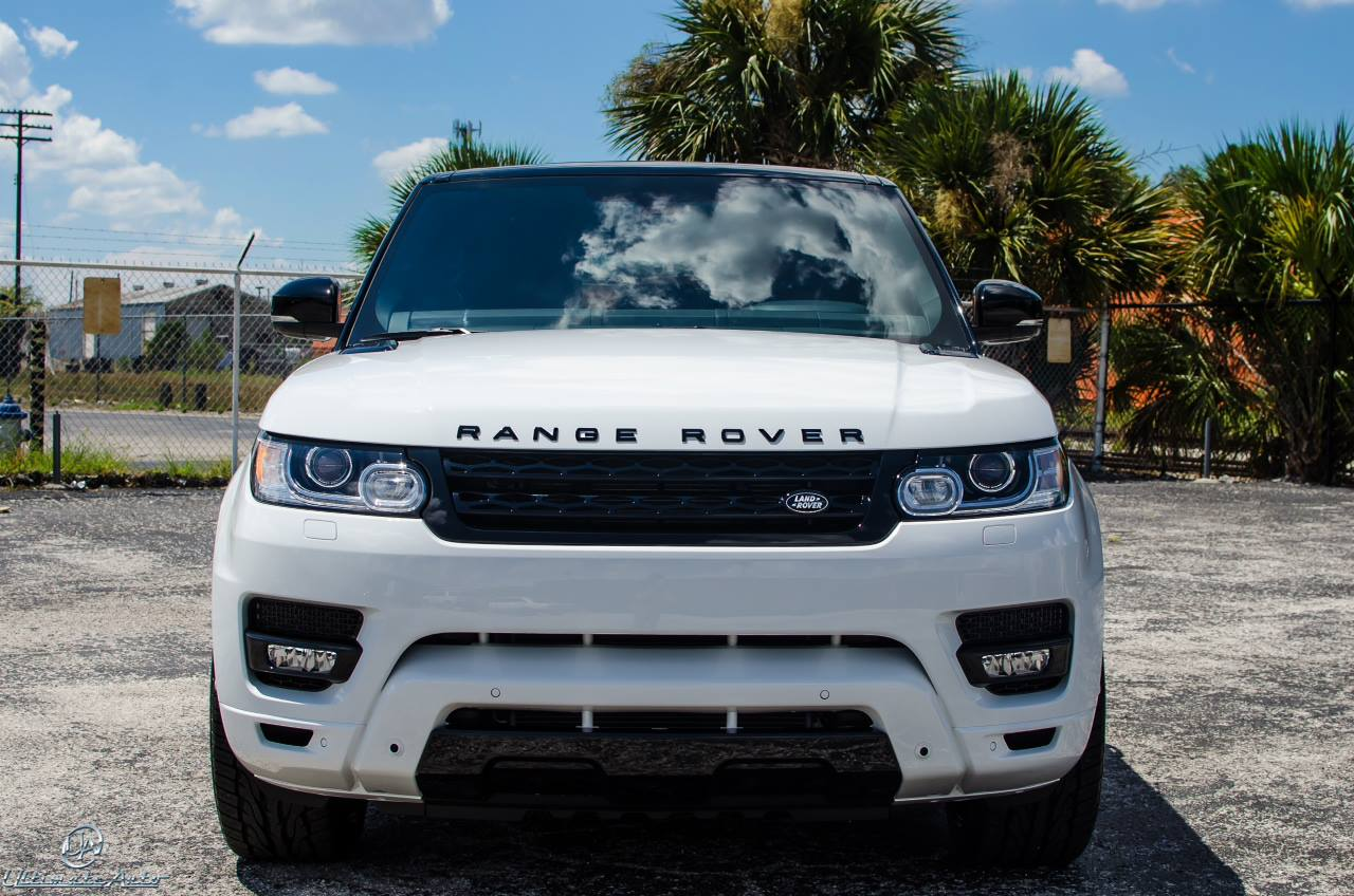 stormtrooper white range rover sport by ultimate auto. Black Bedroom Furniture Sets. Home Design Ideas