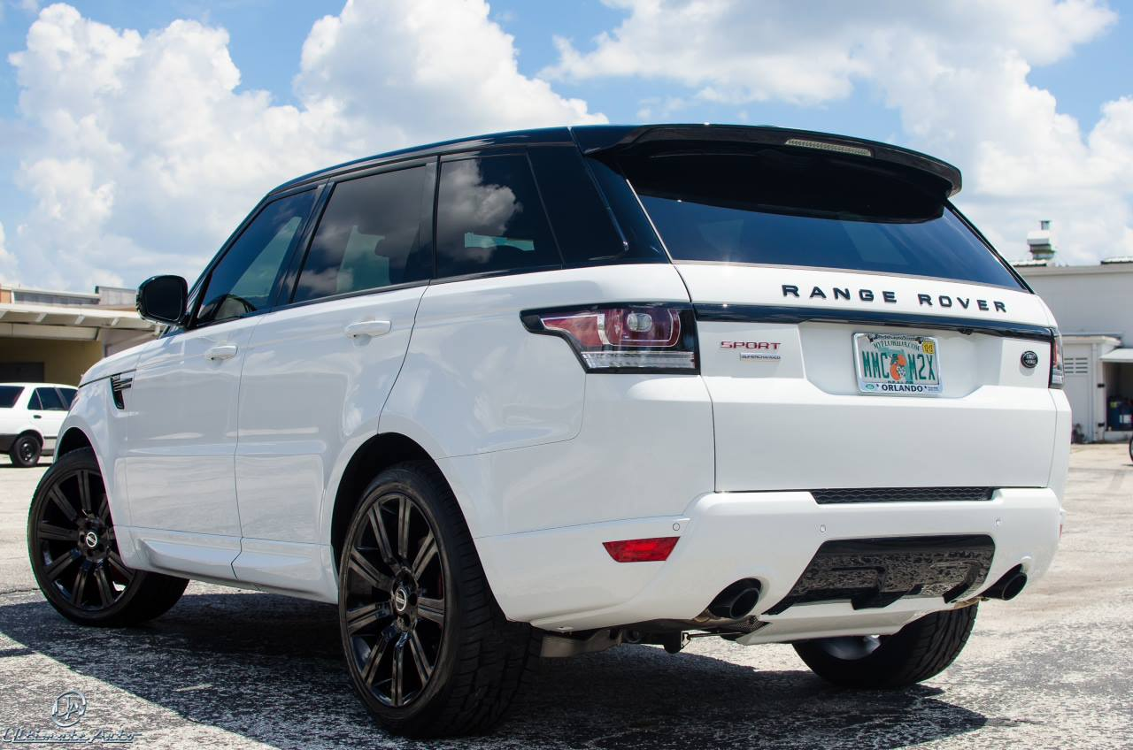 Stormtrooper White Range Rover Sport by Ultimate Auto - GTspirit