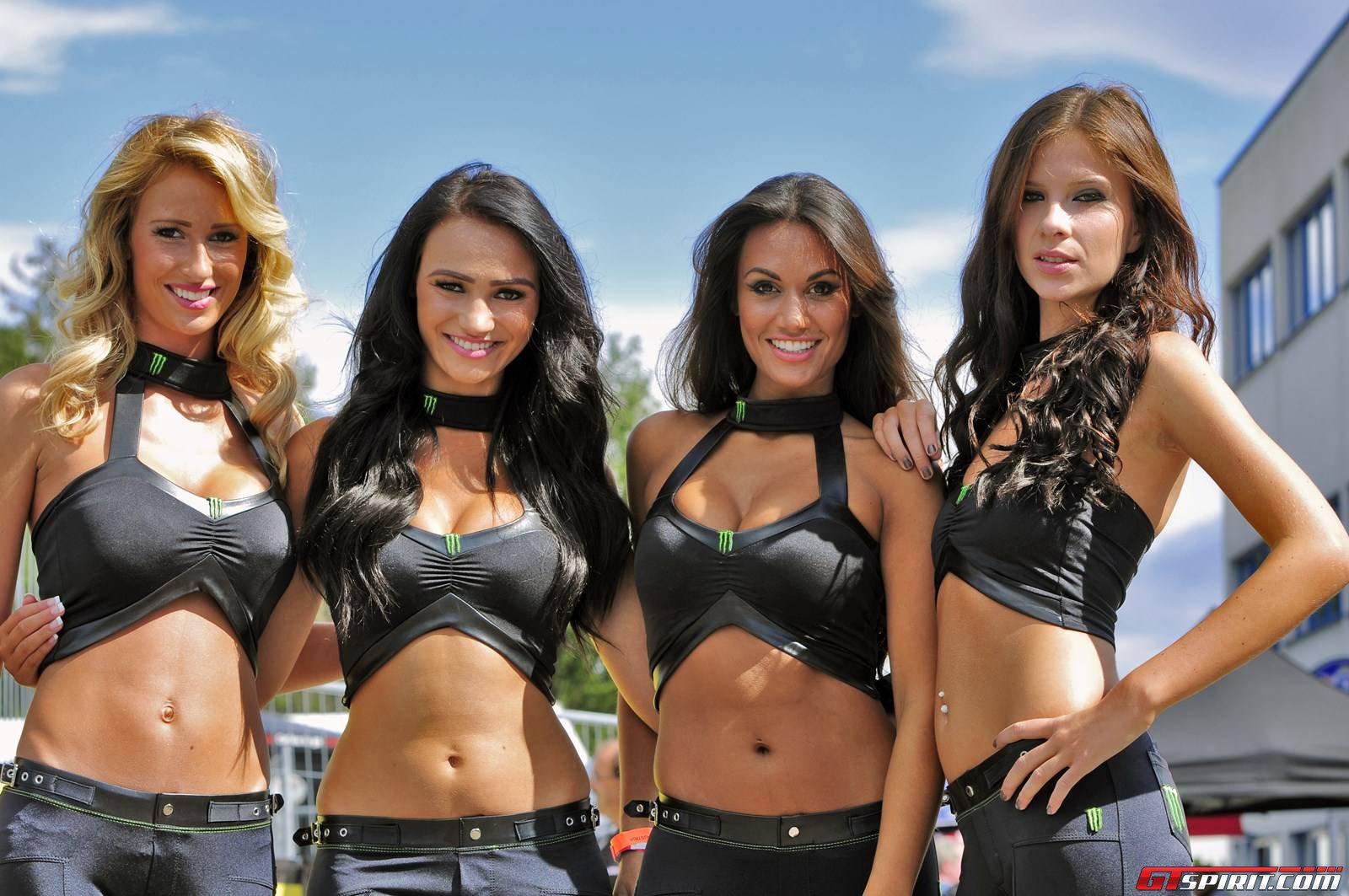 Cars And Girls Monster Energy Girls At Rallycross Austria -6998