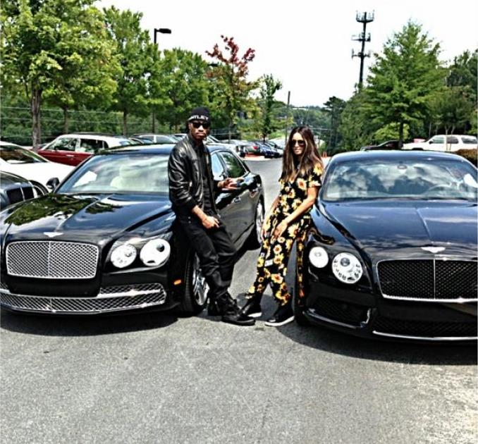 Ciara And Future Acquire Two 2014 Bentleys