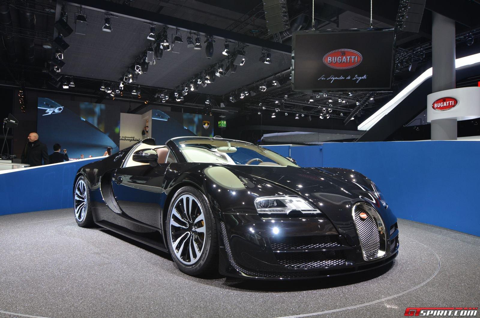 "frankfurt 2013: bugatti veyron vitesse legend edition ""jean"