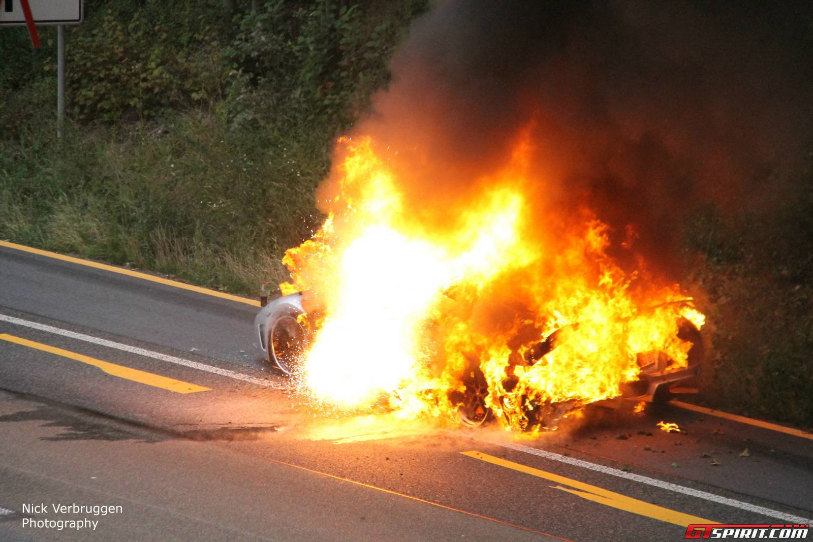 Lamborghini Murcielago Reduced To Ashes In Less Than 15 Minutes Wiring Diagram Car