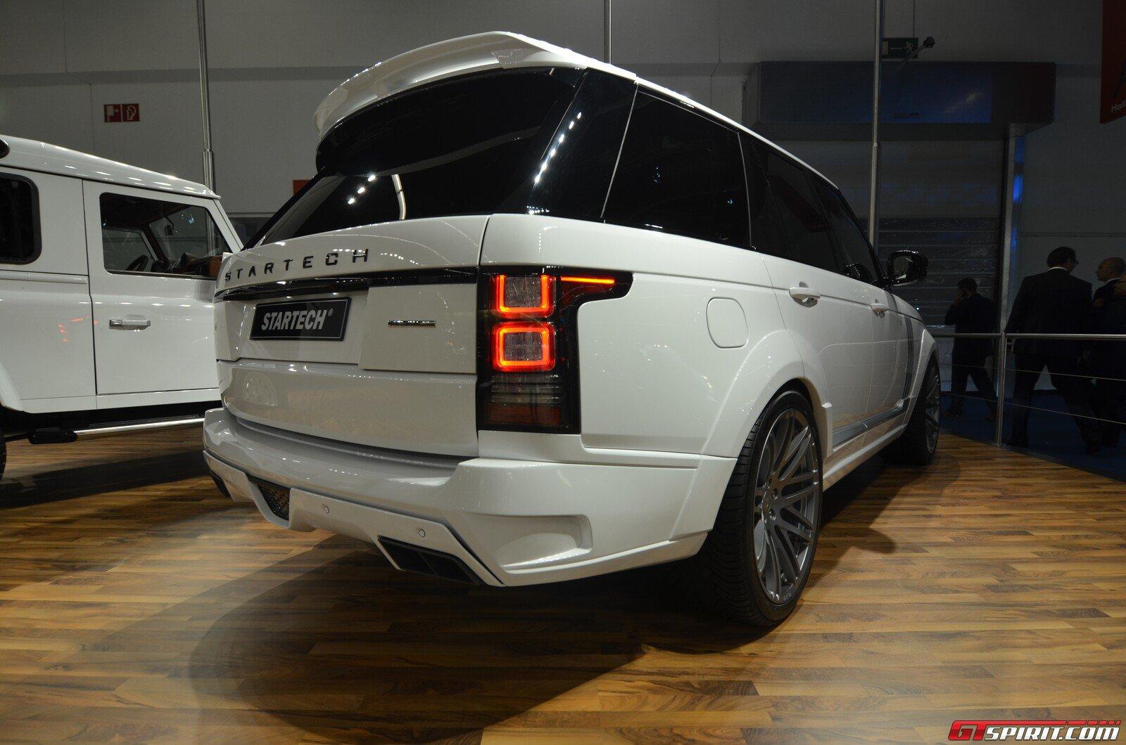 Frankfurt 2013: Startech Range Rover - GTspirit
