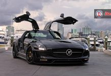 Hamann Hawk Mercedes-Benz SLS AMG on HRE Wheels