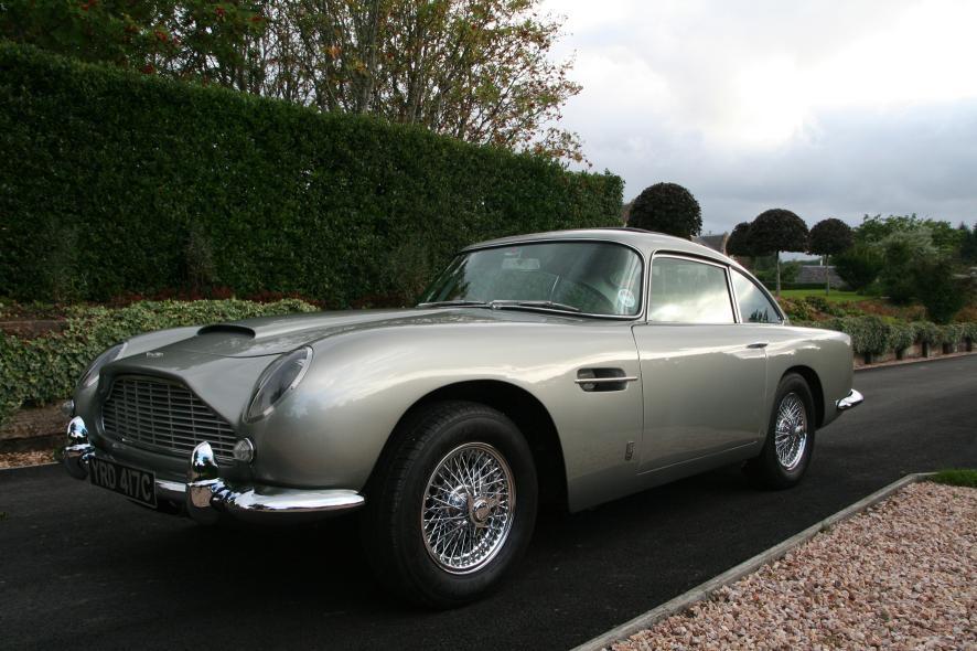 Silver Birch Aston Martin DB Headed To Silverstone Auctions - 1965 aston martin db5