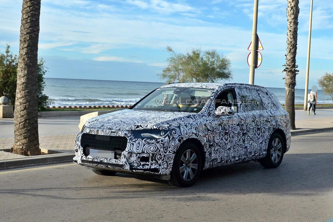 Audi's Next-Gen Q7 SUV Surfaces