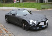 Latest Spy Pics of 2016 Mercedes-Benz GT