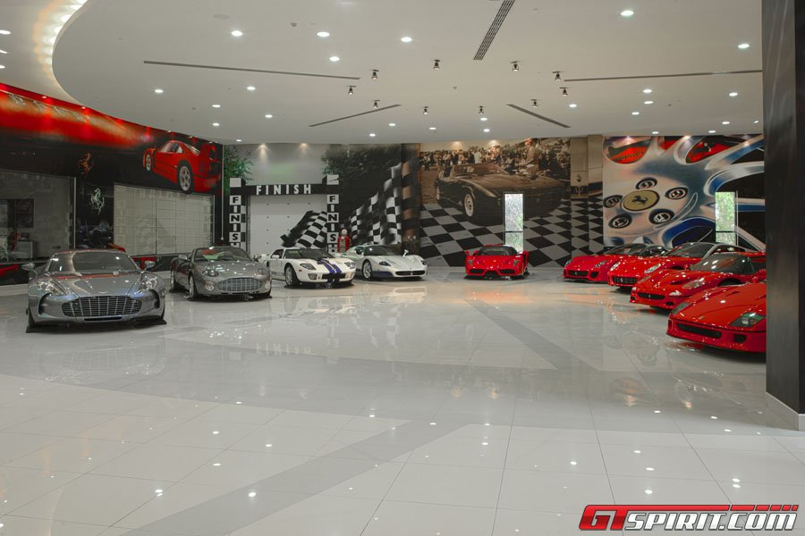 Bugattis For Sale >> 6 Bugatti's, Lamborghini Reventon, Ferrari F40, F50 and Enzo: Now This Is An Epic Garage! - GTspirit