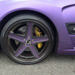 L.A Lakers Inspired Mercedes-Benz SL55 AMG For Sale