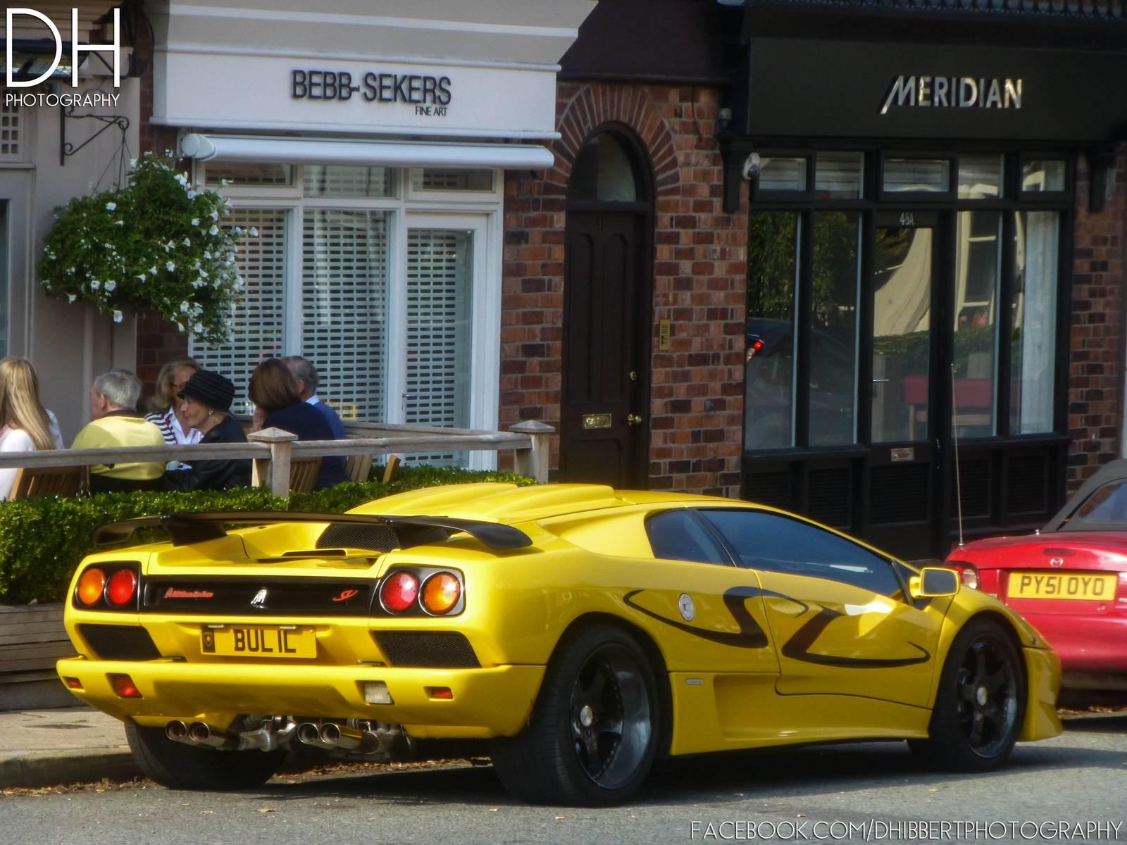Giallo Orion Lamborghini Diablo Sv In Cheshire England Gtspirit