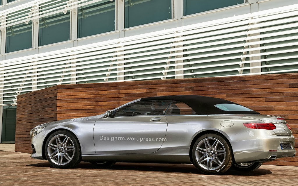 2015 Mercedes-Benz S-Class Convertible Comes to Life ...