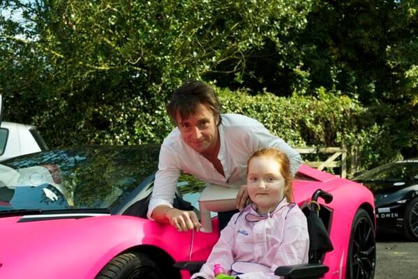 Emilia S Wish Comes True The Ride In A Pink Lambo Gtspirit