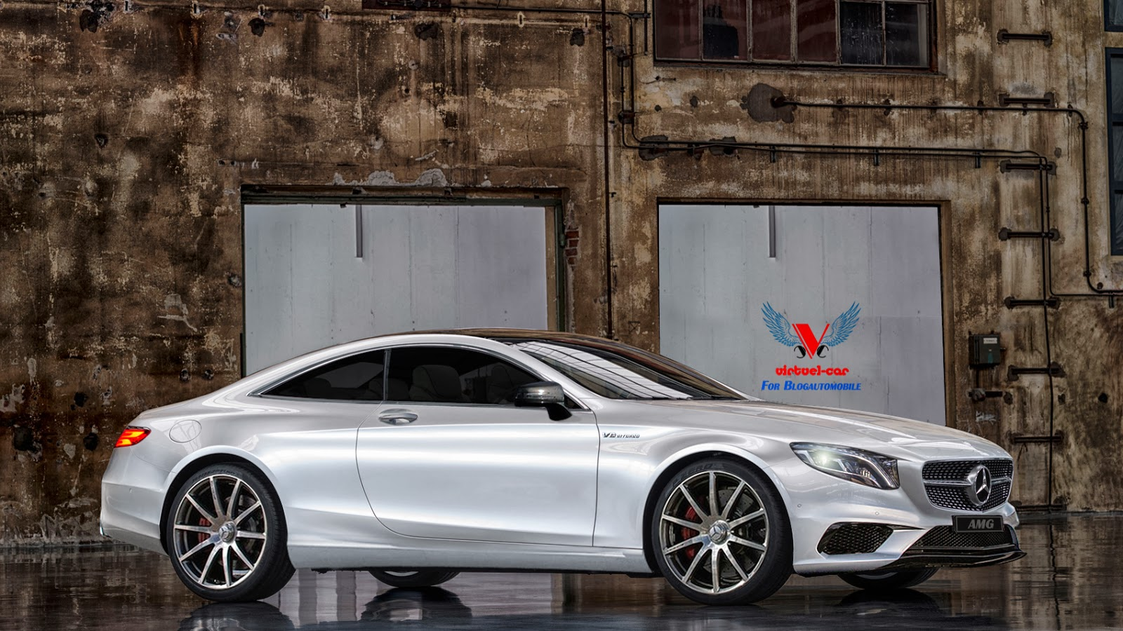 2015 mercedes benz s63 amg coupe comes to virtual life for Mercedes benz lifestyle