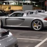 Five Porsche Carrera GTs in One Parking Lot