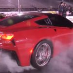 Red 2014 Chevrolet Corvette Stingray Clocks 11.47 at the Quarter Mile