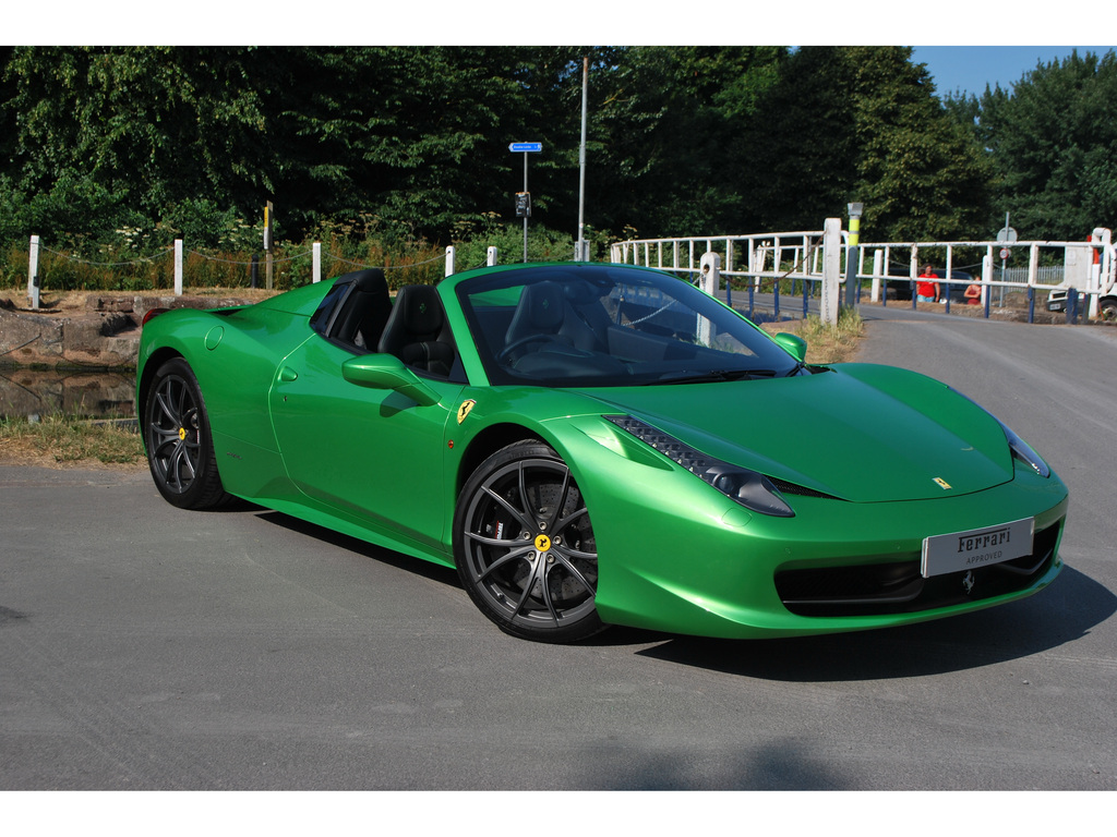 news for sale verde kers lucido green ferrari 458 spider for sale in. Cars Review. Best American Auto & Cars Review