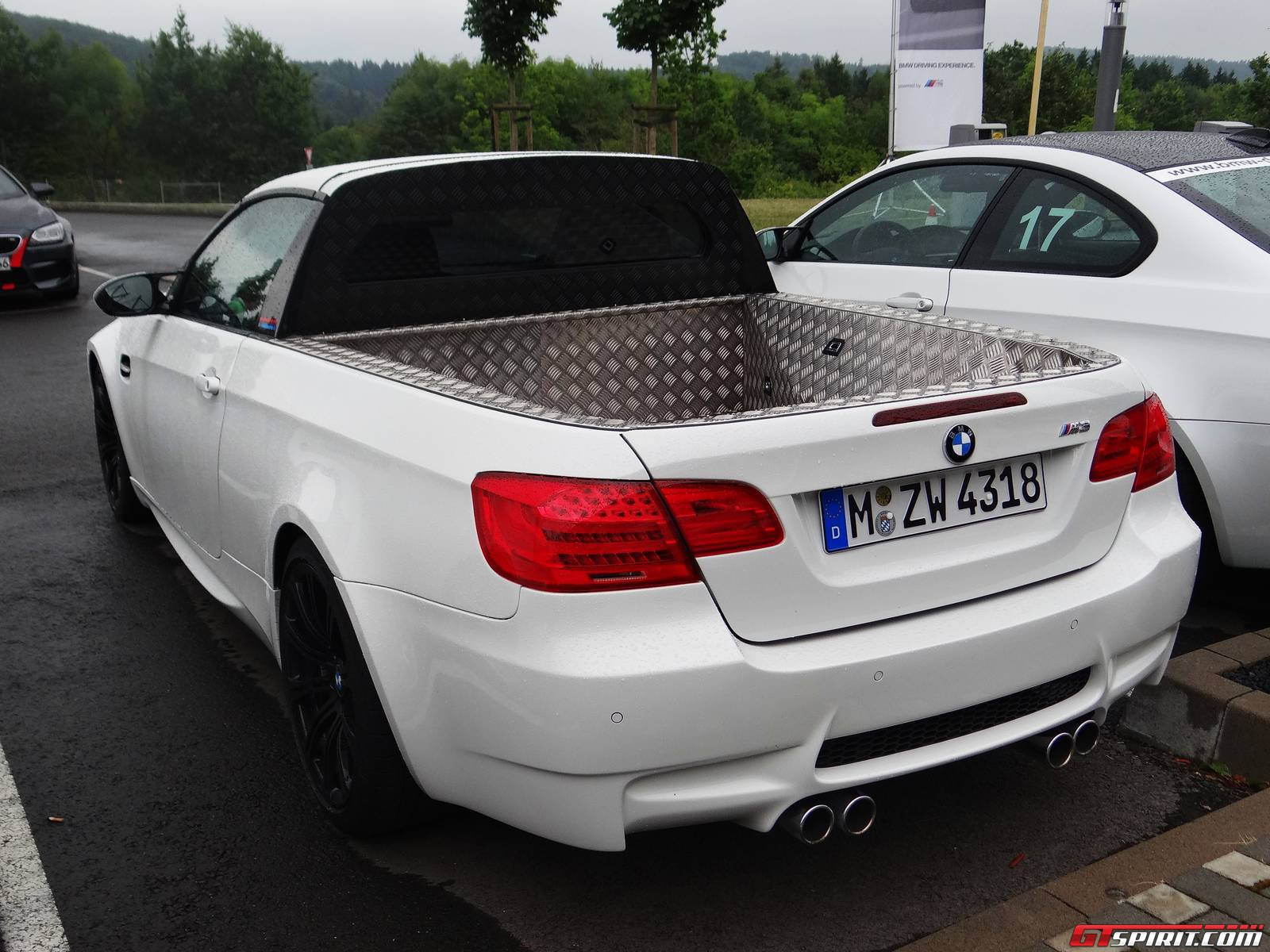 Rare Bmw M3 Pick Up Spotted At The Ring Gtspirit