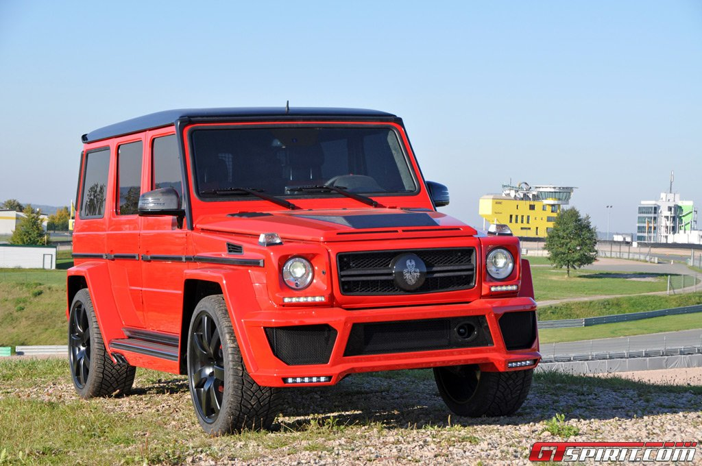 mercedes benz g63 amg by german special customs