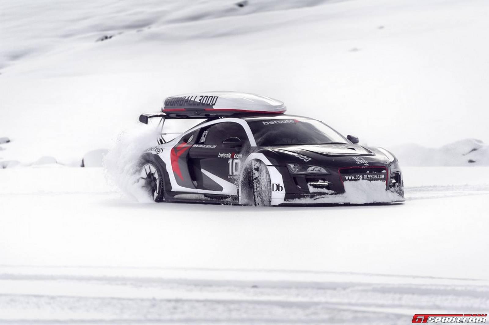 Marvelous Photoshoot Of Jon Olsson S Audi R8 On Snow In