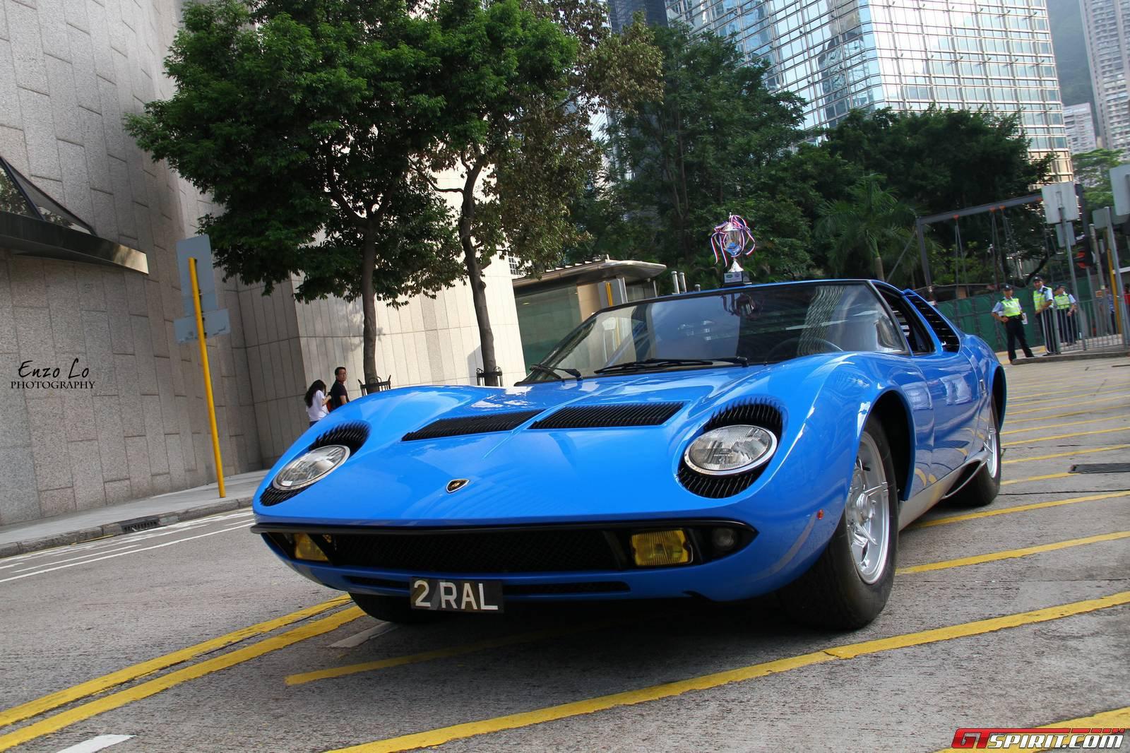 Blue Lamborghini Miura S In Hong Kong Gtspirit