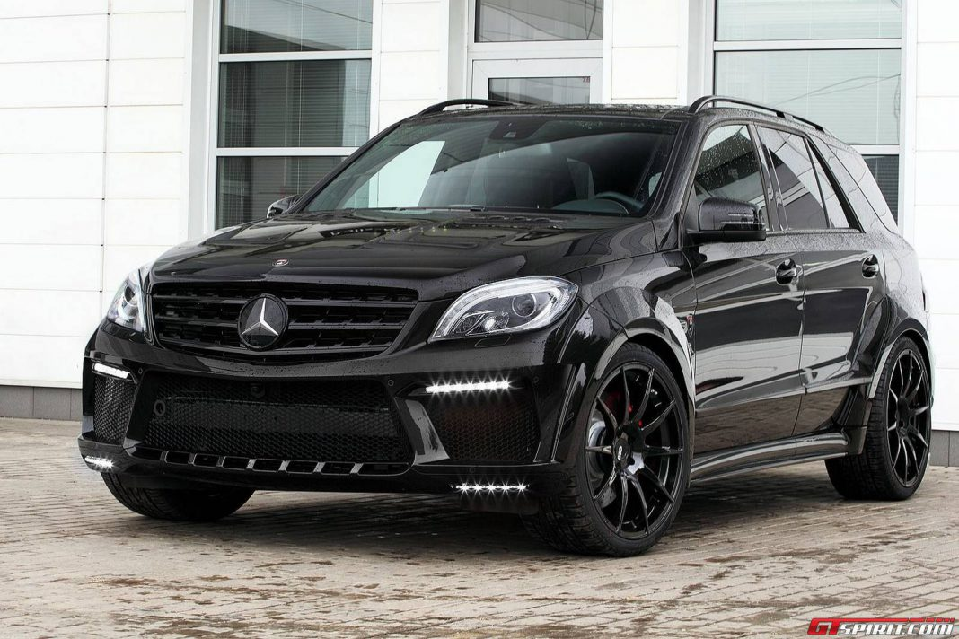 for sale mercedes benz ml 63 amg inferno by topcar gtspirit. Black Bedroom Furniture Sets. Home Design Ideas