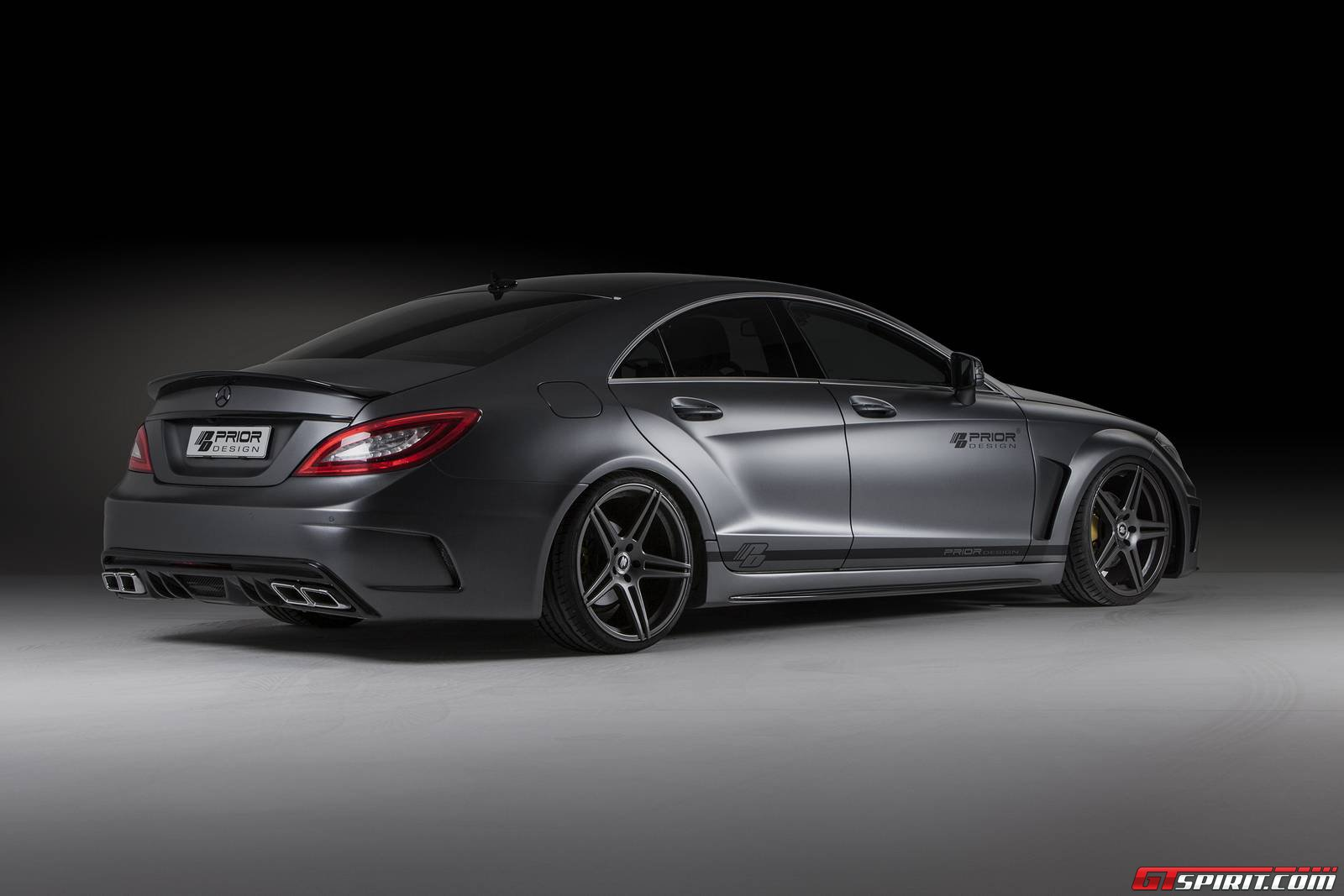 Official prior design mercedes cls pd550 black edition for Official mercedes benz parts