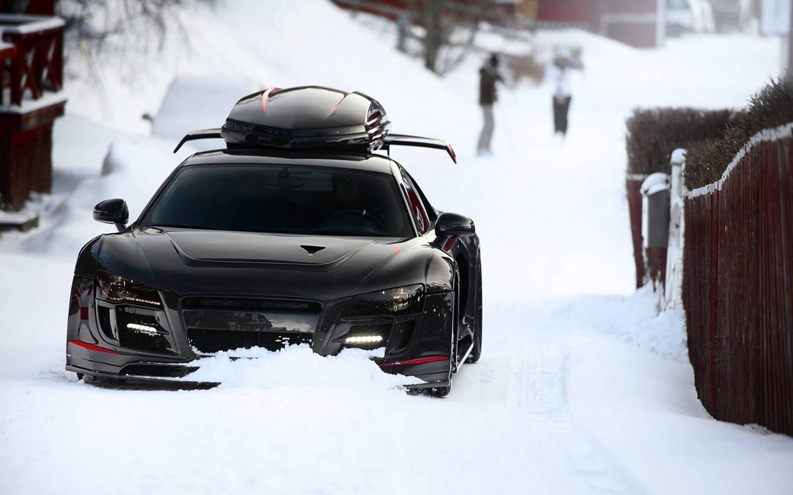A Look at Jon Olsson's Various Ski-Box Equipped Supercars ...