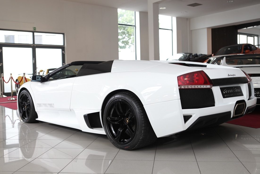 Ultra Rare Lamborghini Murcielago Lp640 Roadster Versace For Sale In