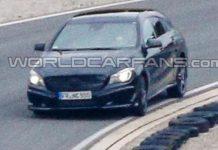 2015 Mercedes-Benz CLA Shooting Brake Spied