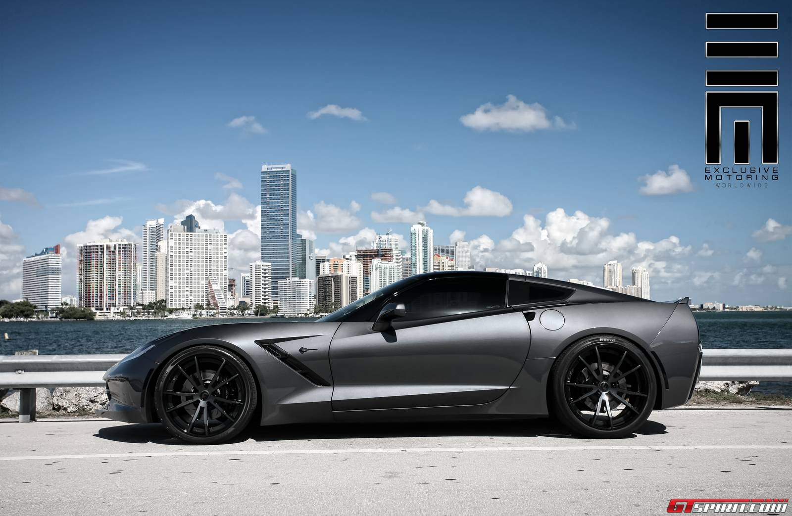 Cyber Gray Metallic Chevrolet Corvette Stingray By