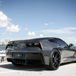 Cyber Gray Metallic Chevrolet Corvette Stingray by Exclusive Motoring