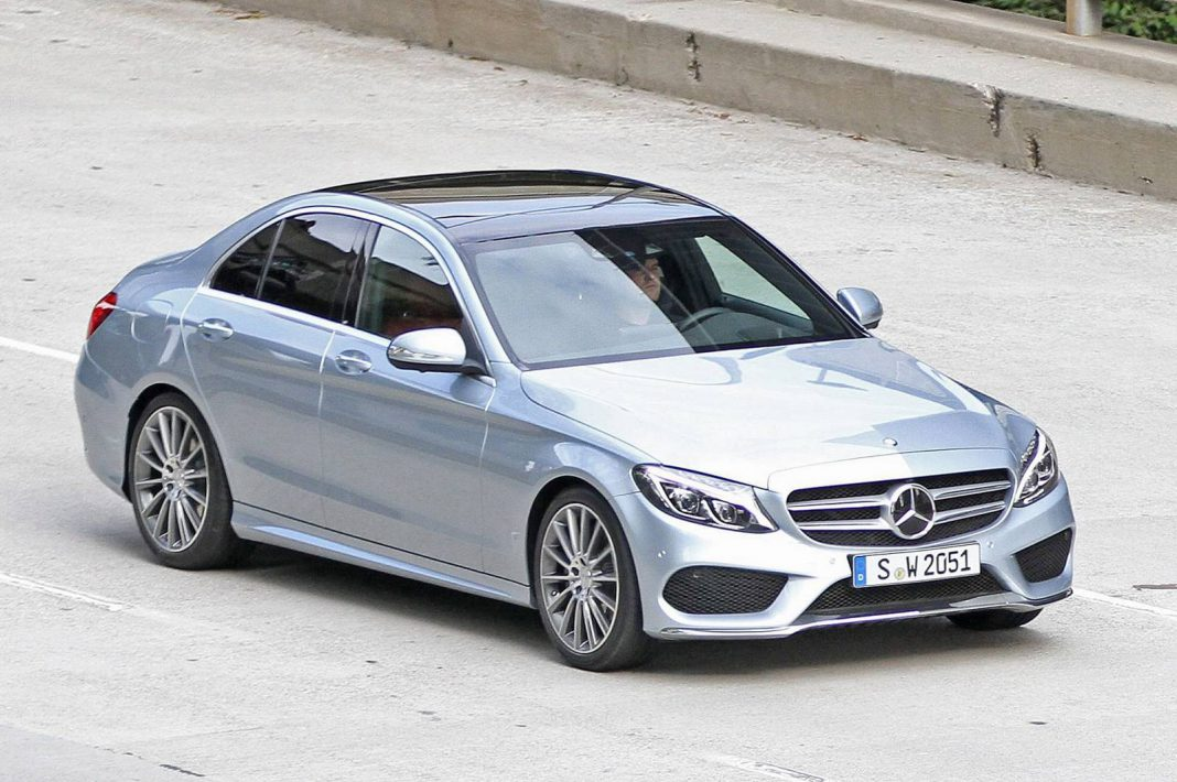 2015 Mercedes-Benz C-Class Spied Uncovered