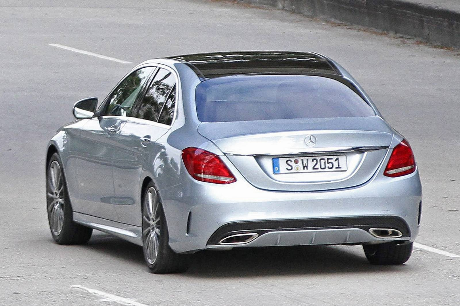2015 Mercedes Benz C Class Spied Uncovered