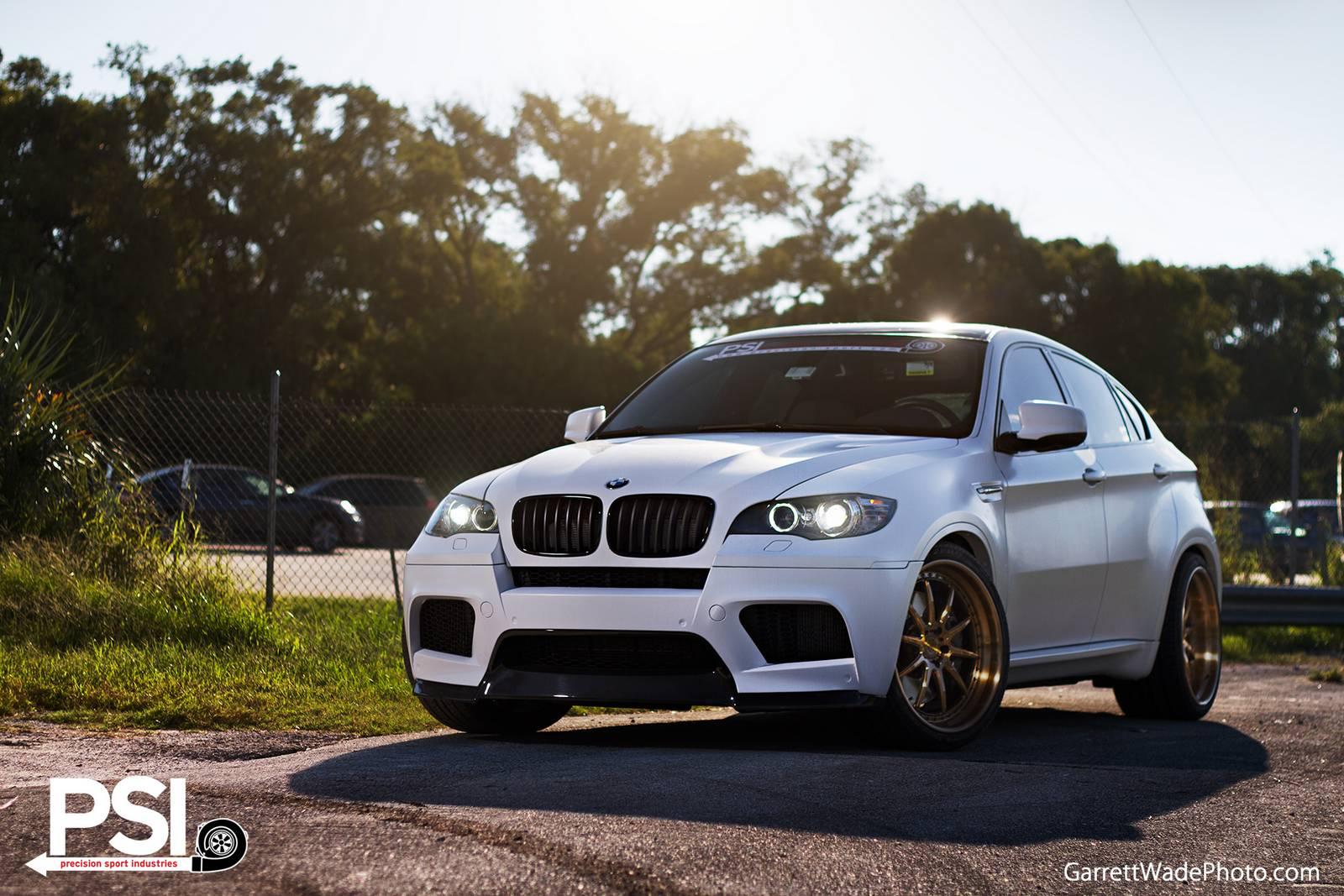 Matte White Bmw X6 M By Precision Sport Industries Gtspirit