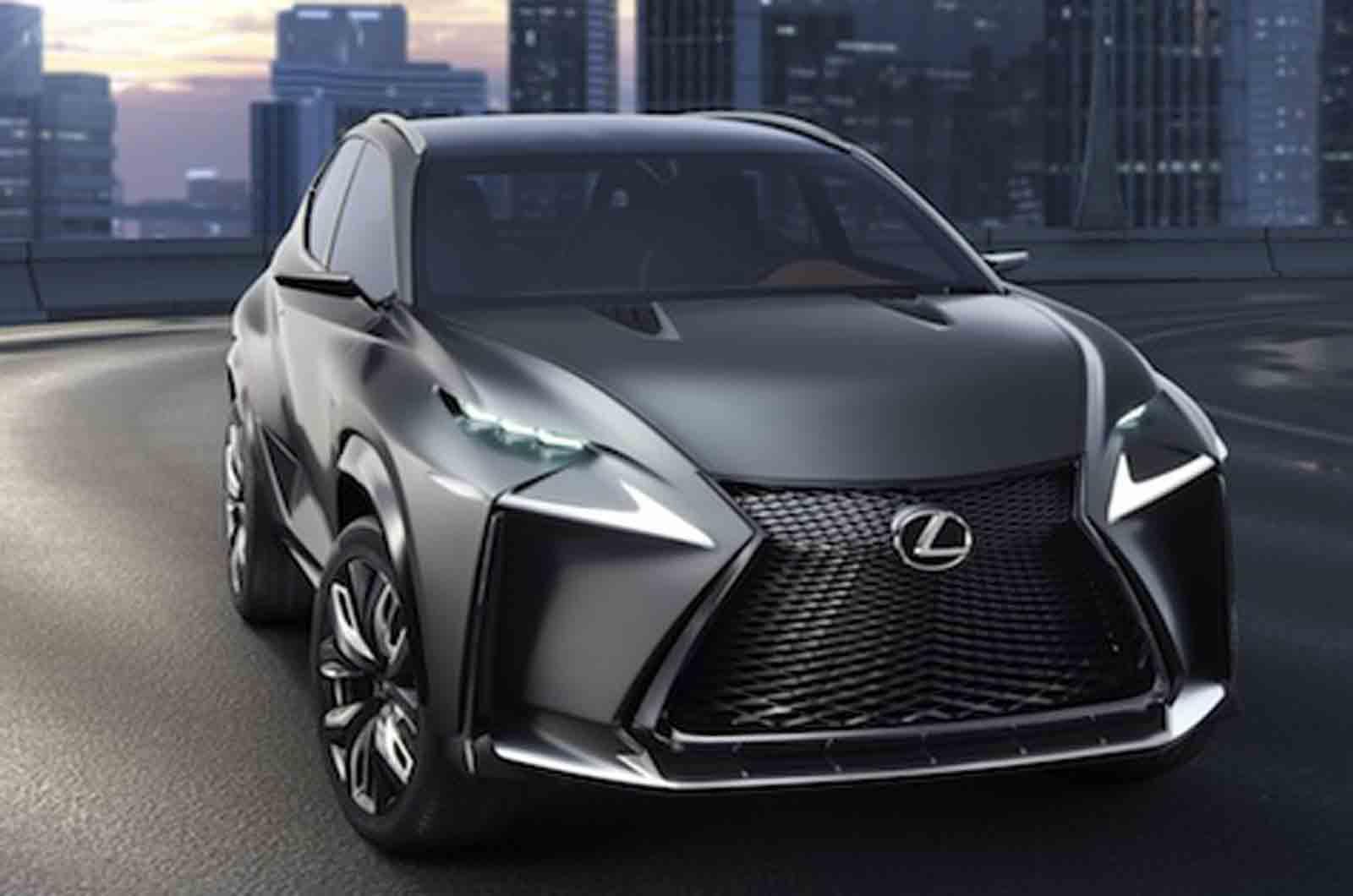 Turbocharged Lexus LF-NX Concept Heading to Tokyo - GTspirit