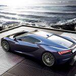 Render of 2013 Maserati Bora Concept