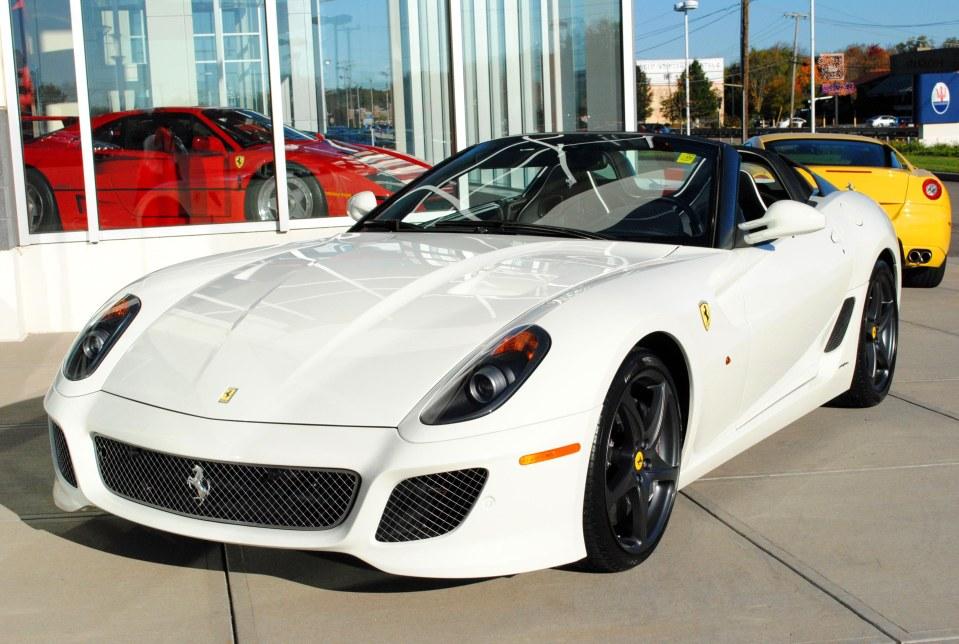White 2011 Ferrari Sa Aperta For Sale Gtspirit
